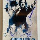 Sherlock Holmes 3 cast signed autographed 8x12 photo Robert Downey Jr. photograph