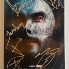 Morbius cast signed autographed 8x12 photo Lared Leto photograph MARVEL