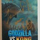 Godzilla VS Kong cast signed autographed 8x12 photo Millie Bobby Brown photograph