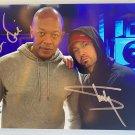 Eminem Dr. Dre dual signed autographed 8x12 photo photograph Slim Shady
