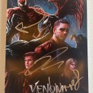 Venom Let There Be Carnage cast signed autographed 8x12 photo Tom Hardy photograph