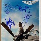 Top Gun Maverick cast signed autographed 8x12 photo Tom Cruise photograph
