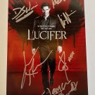 LUCIFER cast signed autographed 8x12 photo photograph Tom Ellis autographs
