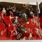 Slipknot band signed autographed 8x12 photo photograph Paul Gray Corey Taylor autographs