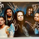 KORN band signed autographed 8x12 photo photograph Jonathan Davis autographs