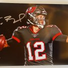 Tom Brady signed autographed 8x12 photo photograph Tampa Bay Buccaneers autographs auto rc