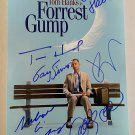 Forrest Gump cast signed autographed 8x12 photo photograph Tom Hanks Robin Wright
