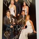 FRIENDS cast signed autographed 8x12 photo photograph Jennifer Aniston autographs