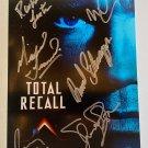 Total Recall cast signed autographed photo photograph Arnold Schwarzenegger autographs