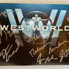 Westworld cast signed autographed 8x12 photo photograph Evan Rachel Wood autographs