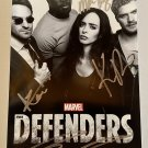 The Defenders cast signed autographed photo photograph Krysten Ritter autographs MARVEL