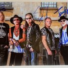 Aerosmith band signed autographed 8x12 photo photograph Steven Tyler autographs