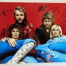 ABBA band signed autographed 8x12 photo Agnetha Faltskog photograph autographs