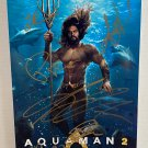 Aquaman 2 cast signed autographed 8x12 photo Jason Momoa photograph autographs