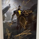 Black Adam cast signed autographed 8x12 photo The Rock Dwayne Johnson photograph