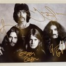 Black Sabbath band signed autographed 8x12 photo Ozzy Osbourne autographs photograph