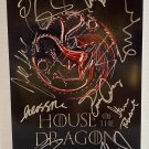 Game of Thrones House of the Dragon cast signed 8x12 photo Paddy Considine