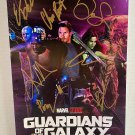 Guardians of the Galaxy Vol. 3 cast signed autographed 8x12 photo Chris Pratt Zoe Saldana
