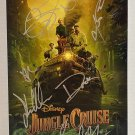 Jungle Cruise cast signed autographed 8x12 photo The Rock Dwayne Johnson photograph