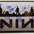 Nine Inch Nails band signed autographed 8x12 photo Trent Reznor autographs