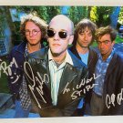 R.E.M. band signed autographed 8x12 photo Michael Stipe photograph REM autographs