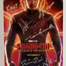Shang-Chi and the Legend of the Ten Rings cast signed autographed 8x12 photo Simu Liu
