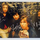 Sonic Youth band signed autographed 8x12 photo Thurston Moore Kim Gordon