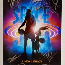 Space Jam A New Legacy cast signed autographed 8x12 photo Lebron James autographs