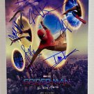 Spider-Man No Way Home cast signed autographed 8x12 photo Tom Holland autographs