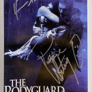 The Bodyguard Whitney Houston Kevin Costner signed autographed 8x12 photo photograph
