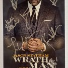 Wrath of Man cast signed autographed 8x12 photo Jason Statham autographs photograph