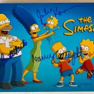 The Simpsons cast signed autographed 8x12 photo Nancy Cartwright Dan Castellaneta autographs