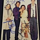 Seinfeld cast signed autographed 8x12 photo Jerry Seinfeld Michael Richards autographs