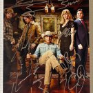 Yellowstone cast signed autographed 8x12 photo Kevin Costner Luke Grimes autographs