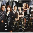 Battlestar Galactica cast signed autographed 8x12 photo Edward James Olmos autographs