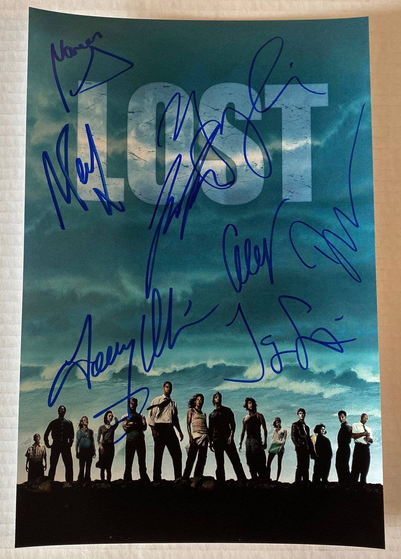 LOST cast signed autographed 8x12 photo Josh Holloway autographs photograph