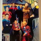 Star Trek Deep Space Nine cast signed autographed 8x12 photo Avery Brooks autographs