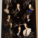 The West Wing cast signed autographed 8x12 photo Martin Sheen autographs