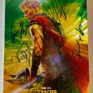 Thor Ragnarok cast signed autographed 8x12 photo Chris Hemsworth Cate Blanchett autographs