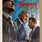 The Irishman cast signed autographed 8x12 photo Robert De Niro Joe Pesci autographs