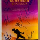 Bohemian Rhapsody cast signed autographed 8x12 photo Rami Malek Queen autographs