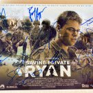 Saving Private Ryan cast signed autographed 8x12 photo Tom Hanks Matt Damon autographs