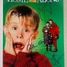 Home Alone cast signed autographed 8x12 photo Macaulay Culkin Joe Pesci autographs