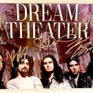 Dream Theater band signed autographed 8x12 photo James LaBrie autographs photograph