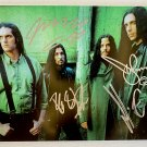 Type O Negative band signed autographed 8x12 photo Peter Steele autographs