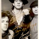 Stevie Ray Vaughan Double Trouble band signed autographed 8x12 photo photograph autographs