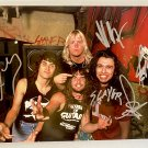 Slayer band signed autographed 8x12 photo Tom Araya Jeff Hanneman autographs photograph