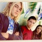 Silverchair band signed autographed 8x12 photo Daniel Johns autographs photograph