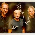 Genesis band signed autographed 8x12 photo Phil Collins autographs photograph