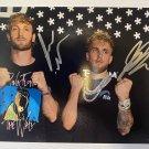 Logan Paul Jake Paul dual signed autographed 8x12 photo photograph Youtube stars